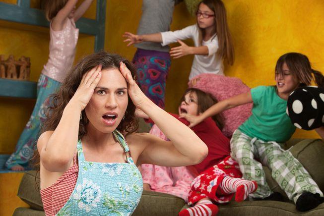 μητρικό burnout