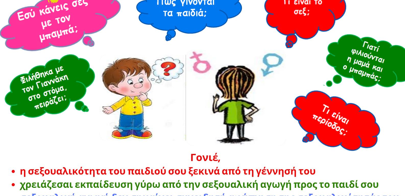 Σεξουαλική Αγωγή, γονιός, παιδί, τι είναι σεξ, ψυχολογία, σχέσεις γονιού-παιδιού, Βριλήσσια, Μαρίνα Μόσχα